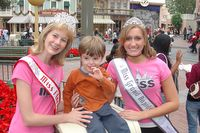 Johnny meets his first beauty pageant winners